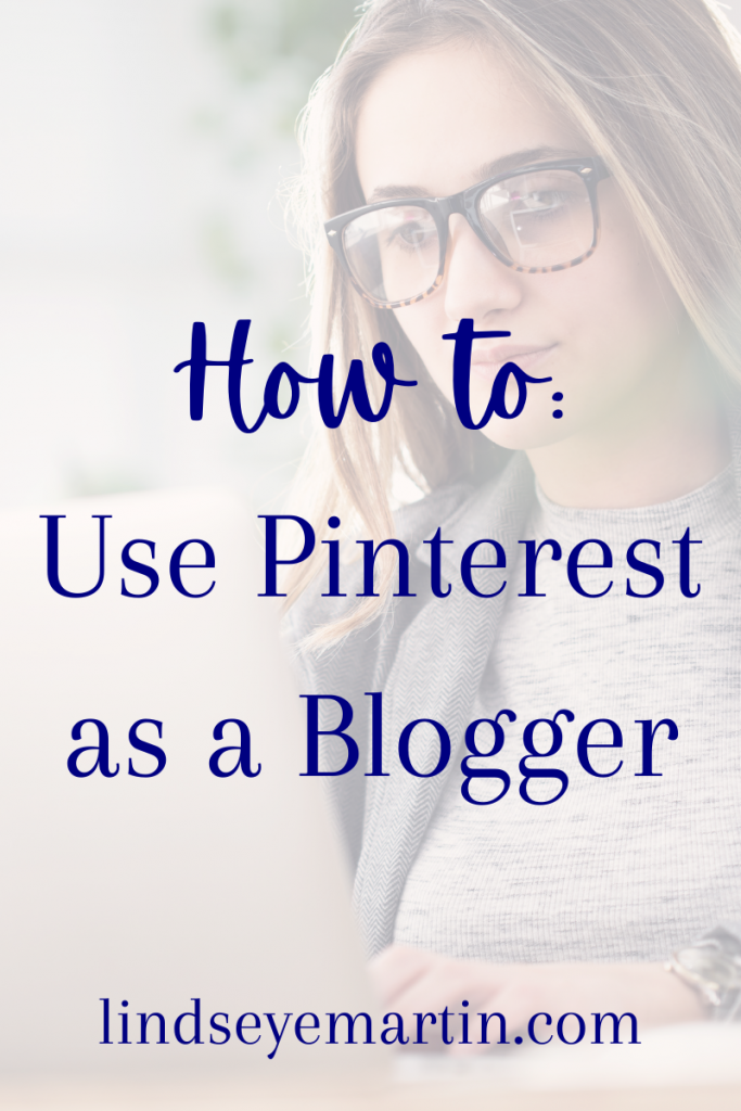 Use Pinterest as a blogger