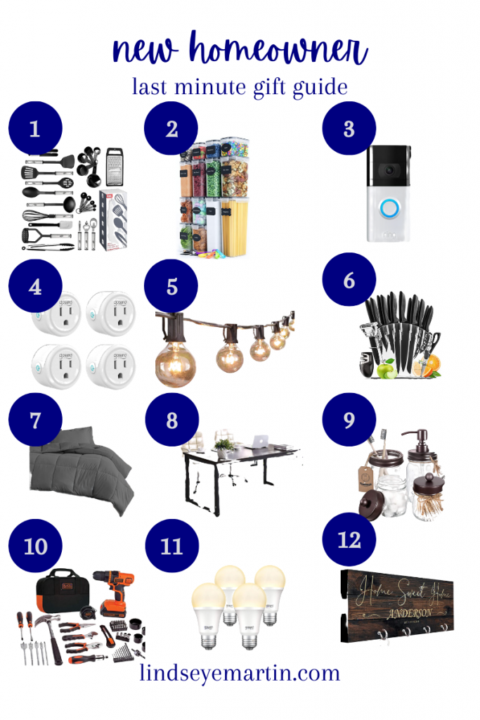 The last minute gift guide for the new homeowner