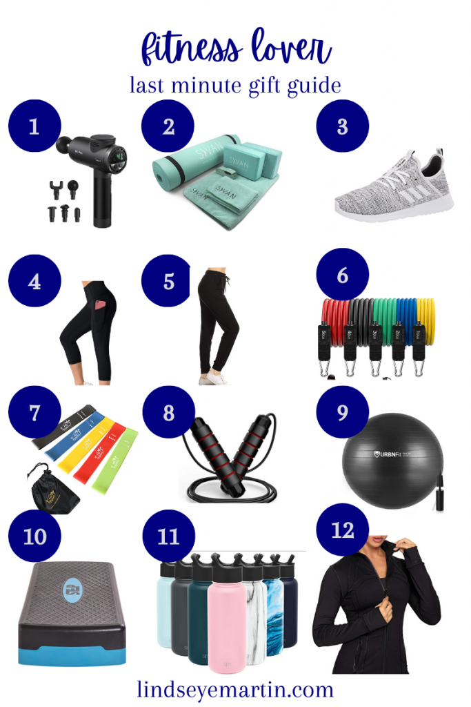 Last minute gift guides for the fitness lover