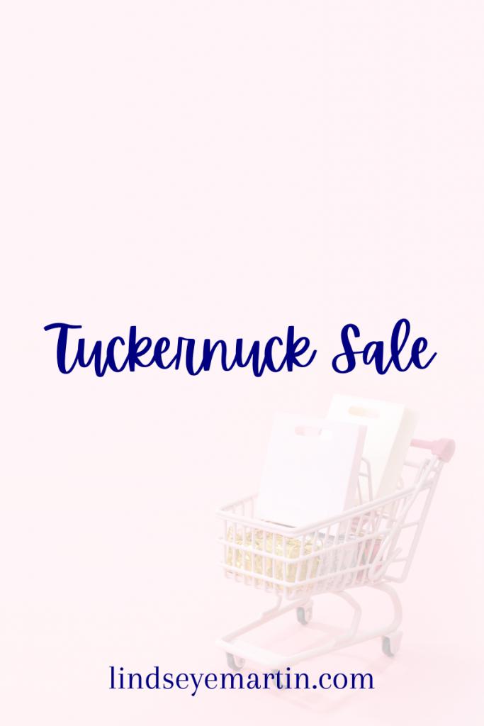 Tuckernuck online sample sale is live